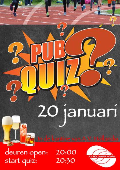20 Januari: Hollandia PubQuiz