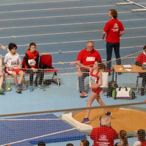 Nationale indoorwedstrijd Apeldoorn 20 januari 2018