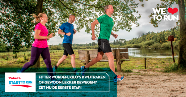 Zaterdag 8 september start de clinic Start to Run weer.
