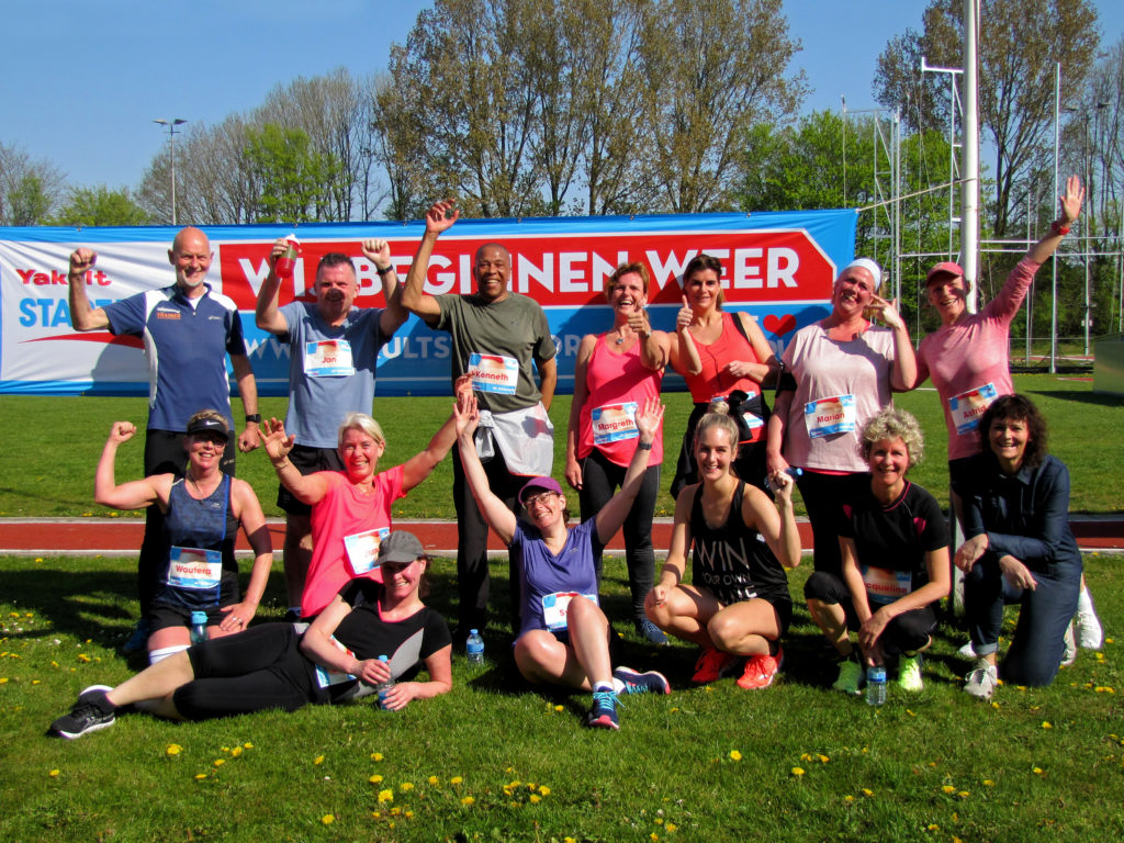Trainingen Start-to-Run afgerond